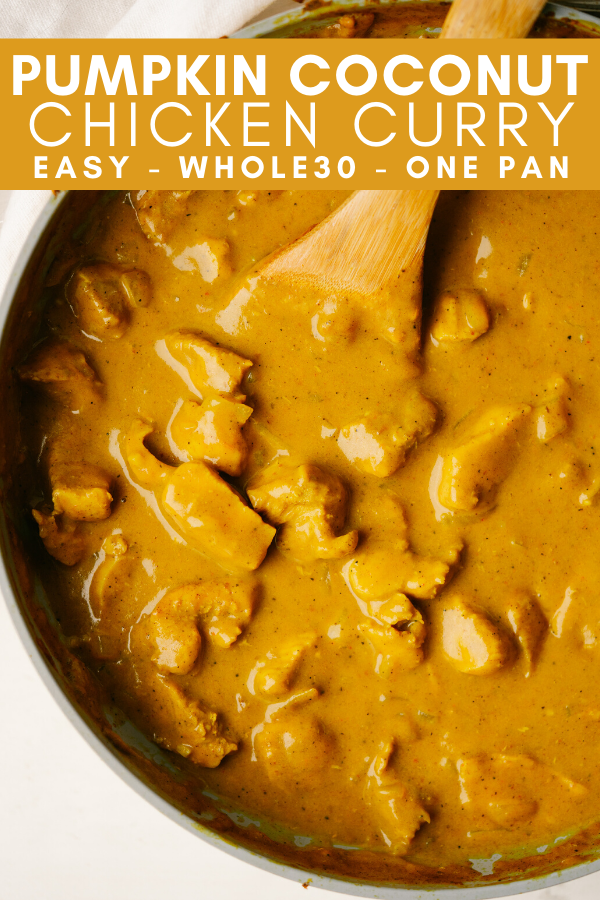 Image for pining pumpkin coconut chicken curry on pinterest