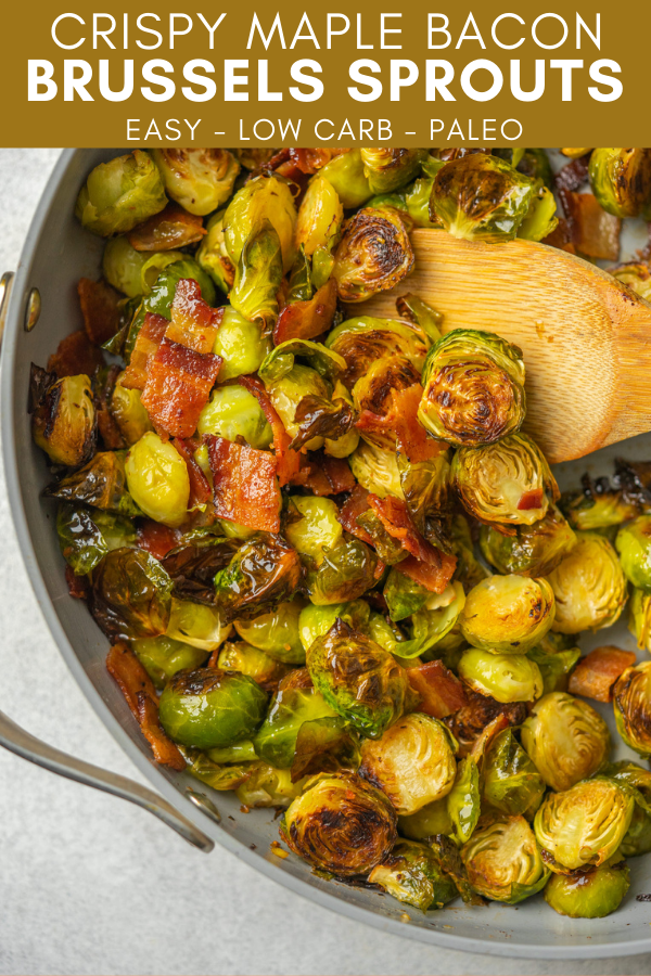 Image for pining maple bacon brussels sprouts recipe on pinterest