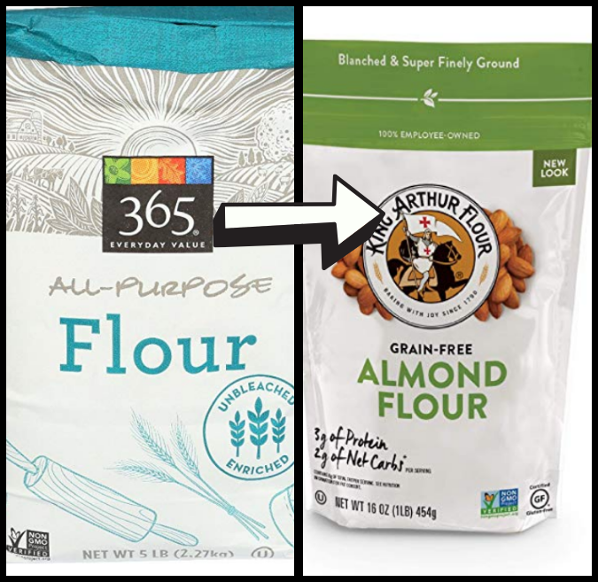 all purpose flour and almond flour